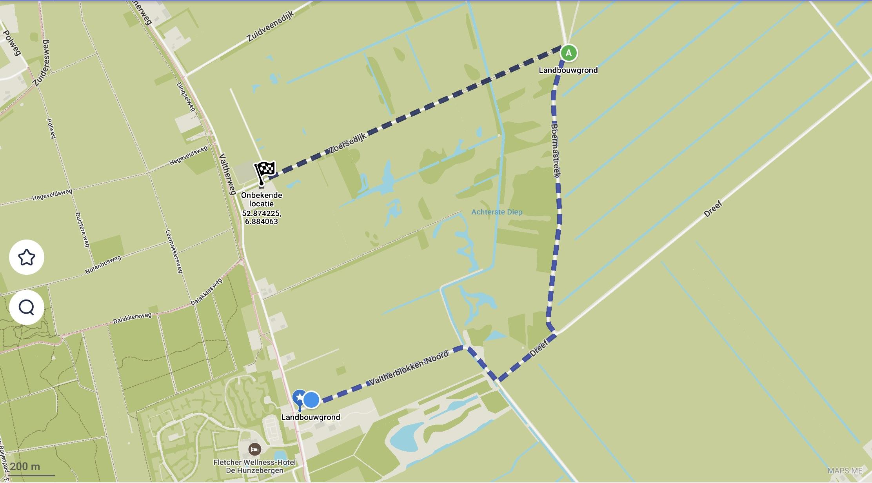 Route Boermastreek-Zoersedijk